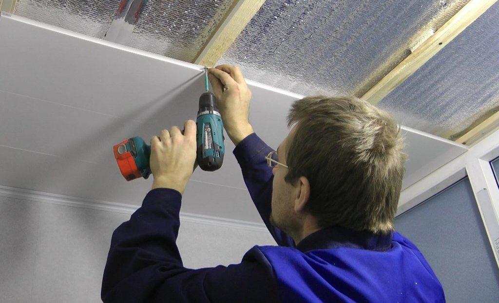 Потолок из пвх панелей своими руками : инструкция по. - Первая