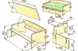 Как сделать мебель своими руками в домашних условиях фото и чертежи 35
