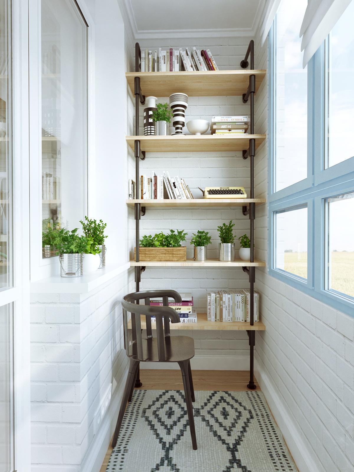 Преображаем балкон - уютные идеи.