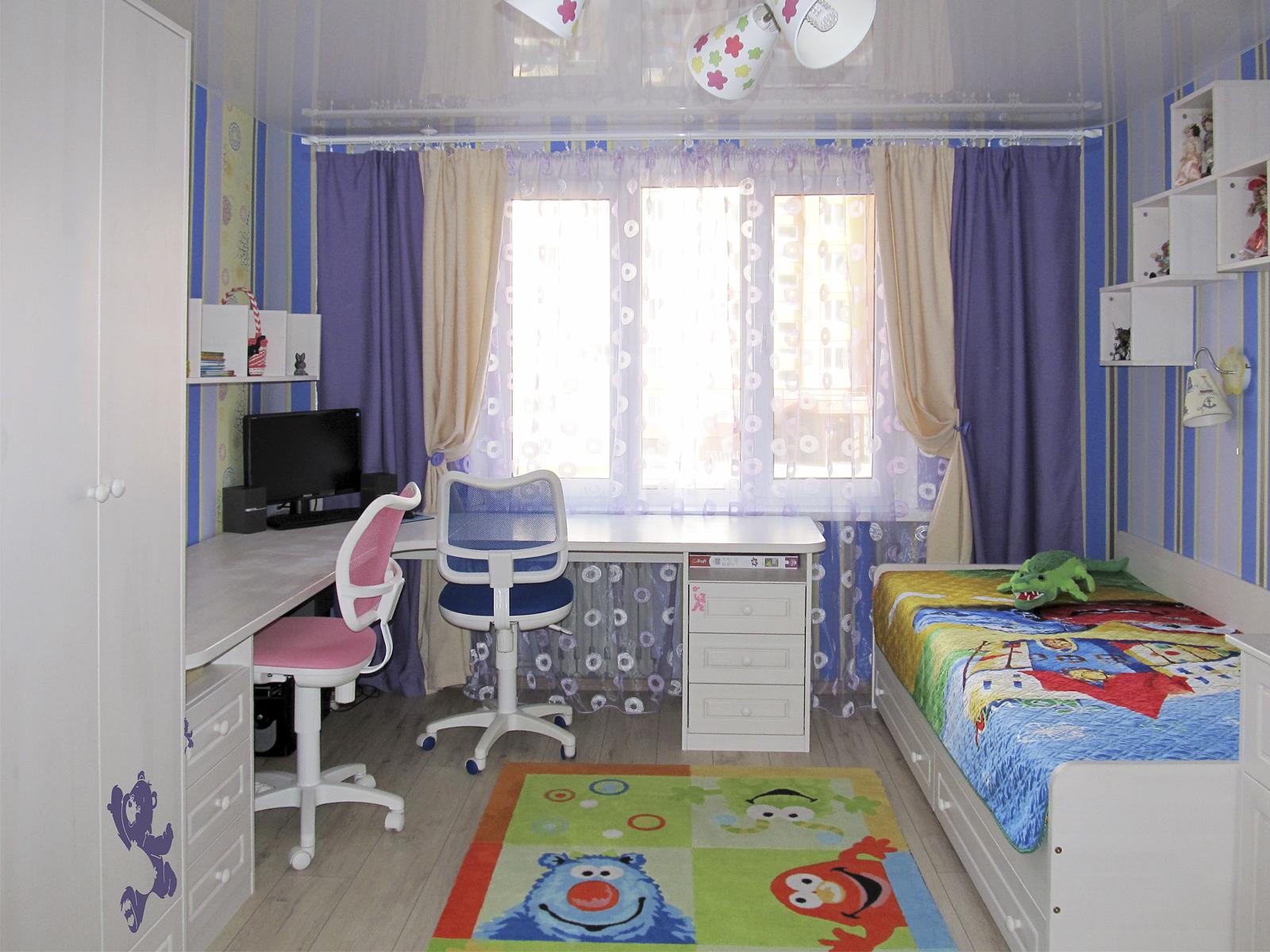 Детская 12 м для двоих разнополых детей фото