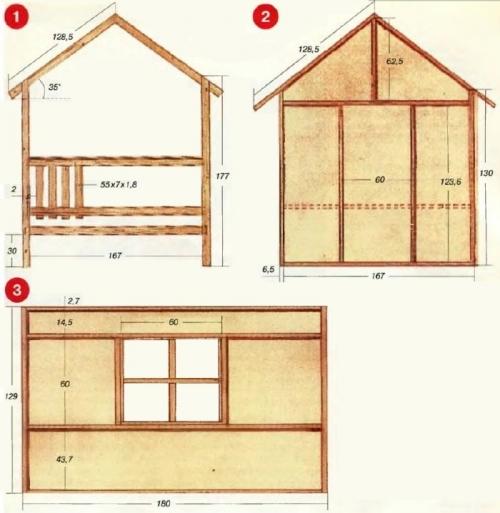 Как сделать дом на даче своими руками