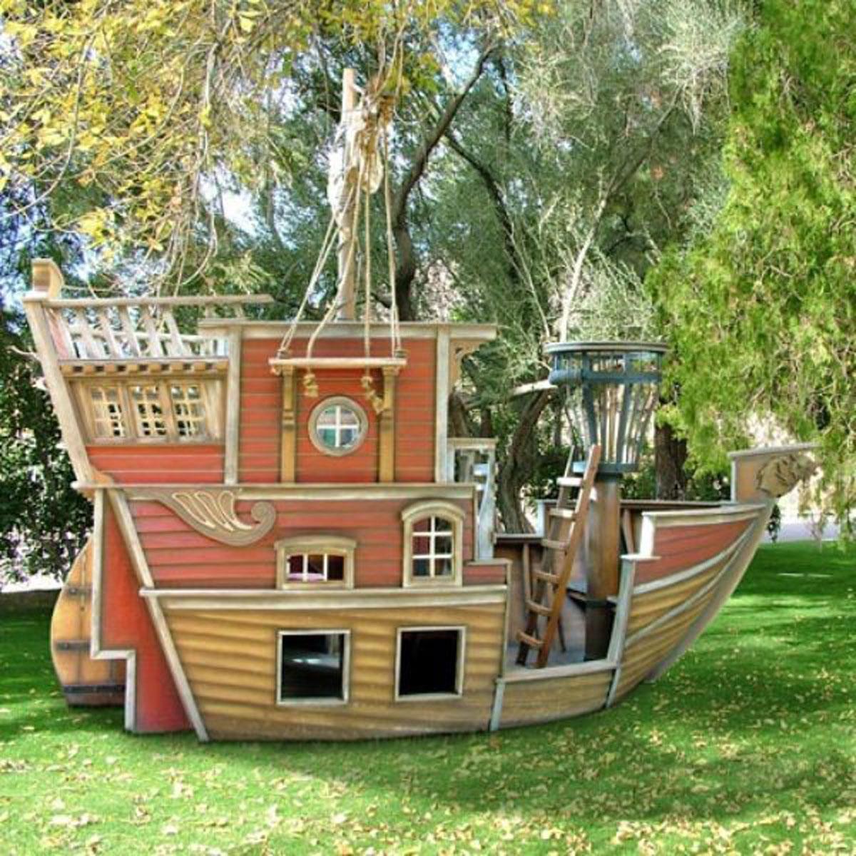 Деревянный кораблик своими руками для детей