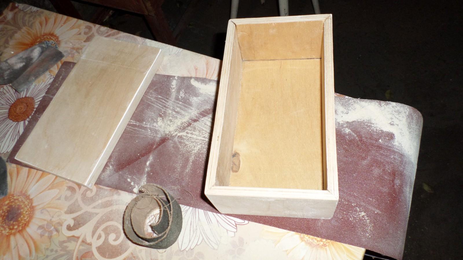 Как сделать шкатулку из дерева своими руками в домашних