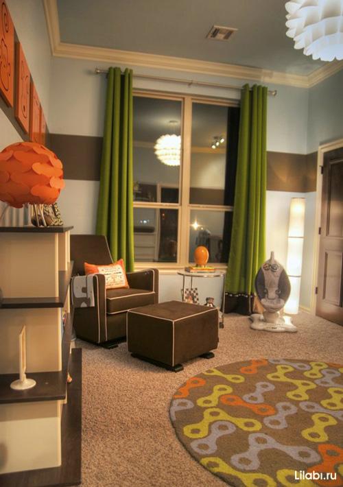 Designa ett litet barnrum för en tonåring. Cloud-nattliv är ett ...