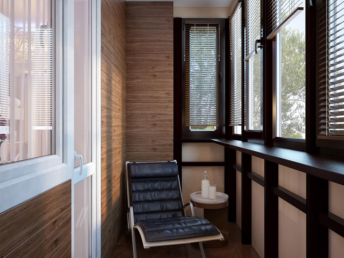 Дизайнерські ідеї для балкона обшитого вагонкою. створюємо с.