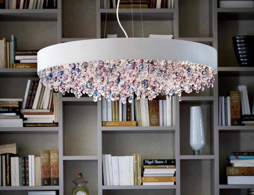 Plafoniere Grandi Per Soggiorno : Illuminazione nel soggiorno 17 foto : lampadari e faretti moderni