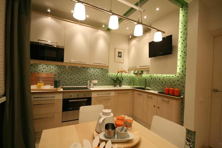 Дизайн и интерьер кухни 9 кв.м фото