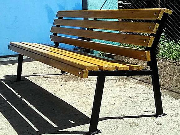 Садовые скамейки из профильной трубы своими руками фото 58
