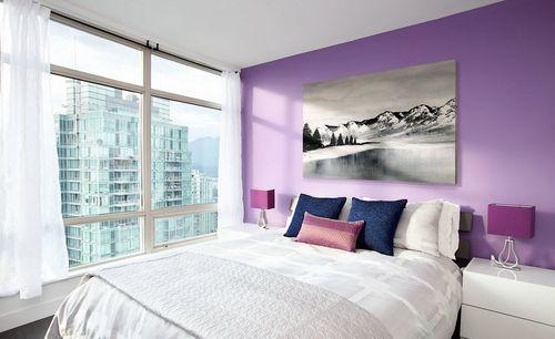 Parete Camera Da Letto Lilla : L interno lilla della sala lilla living room foto e suggerimenti