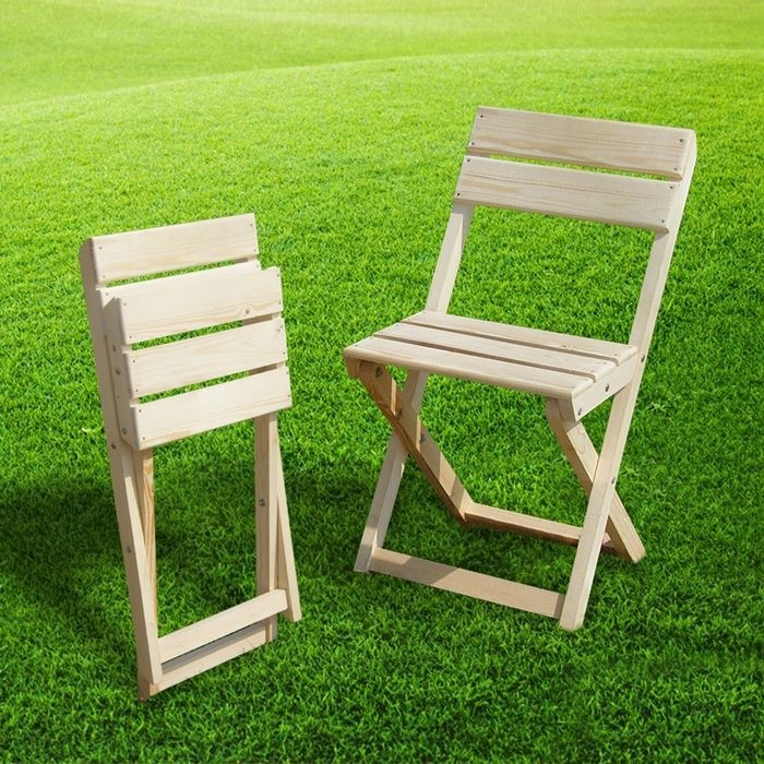 Складные стулья из дерева 130