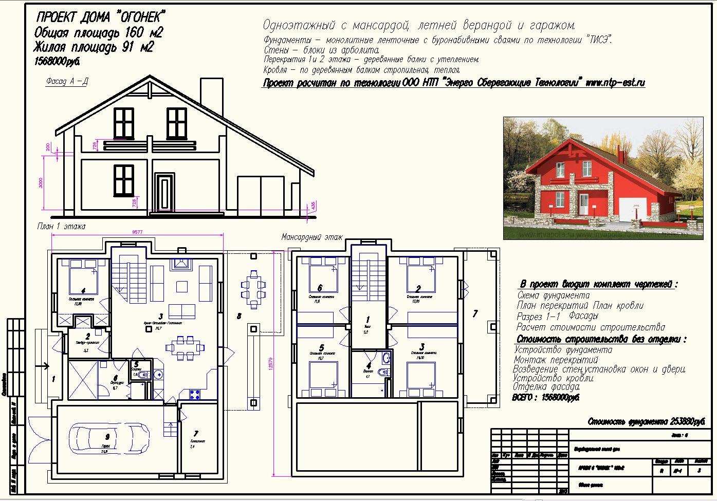 Как правильно сделать чертежи дома