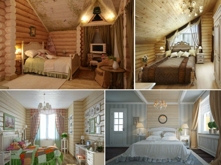 Small Bedroom In A Wooden House Bedroom Interior In A Wooden House Is The Right Choice