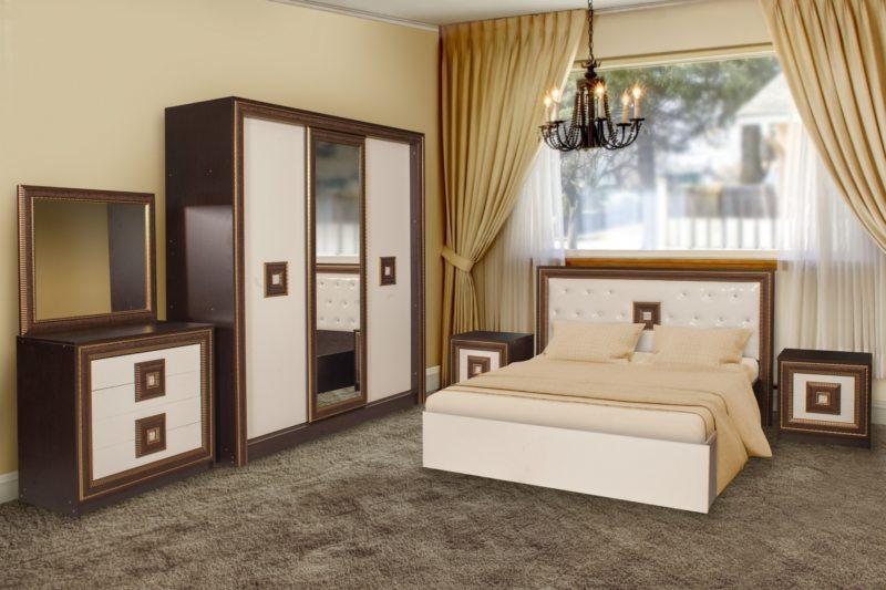 Chambre wengé et beige quoi d\'autre couleur. Meubles en wengé à l ...